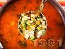 Рецепта Супа от пиле и грах